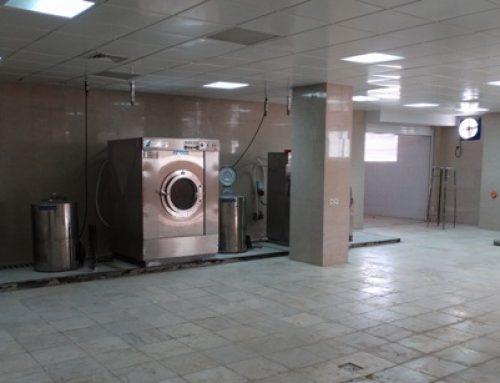 افتتاح رختشوخانه جدید بیمارستان شهید محمدی